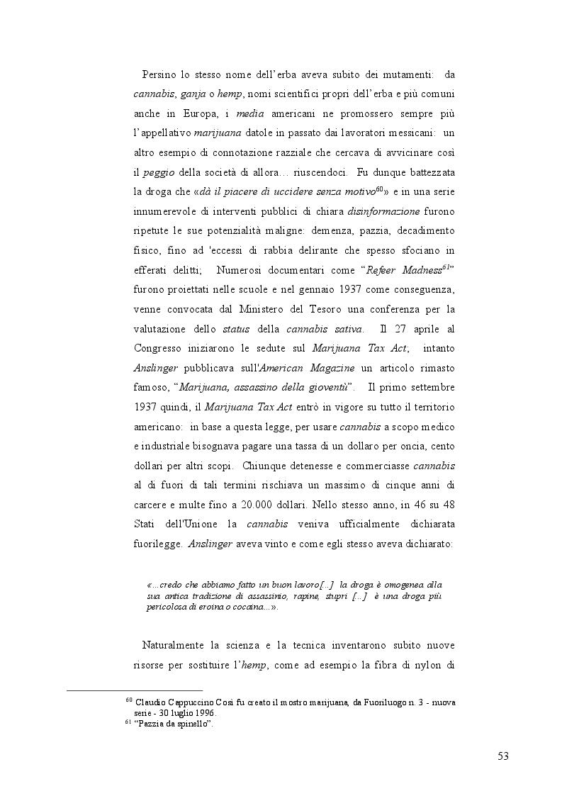 Anteprima della tesi: La mobilità psichedelica nell'Unione Europea. Origini e sviluppo del turismo per droga, Pagina 5