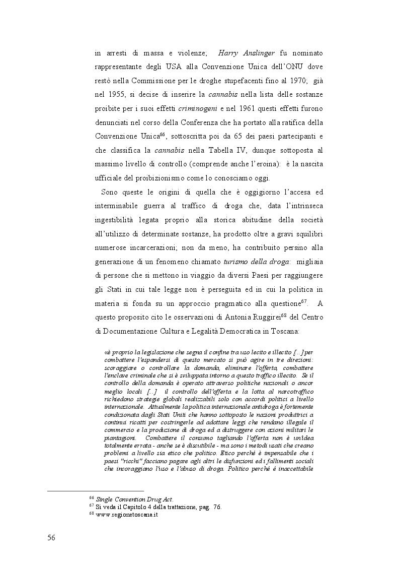 Anteprima della tesi: La mobilità psichedelica nell'Unione Europea. Origini e sviluppo del turismo per droga, Pagina 8