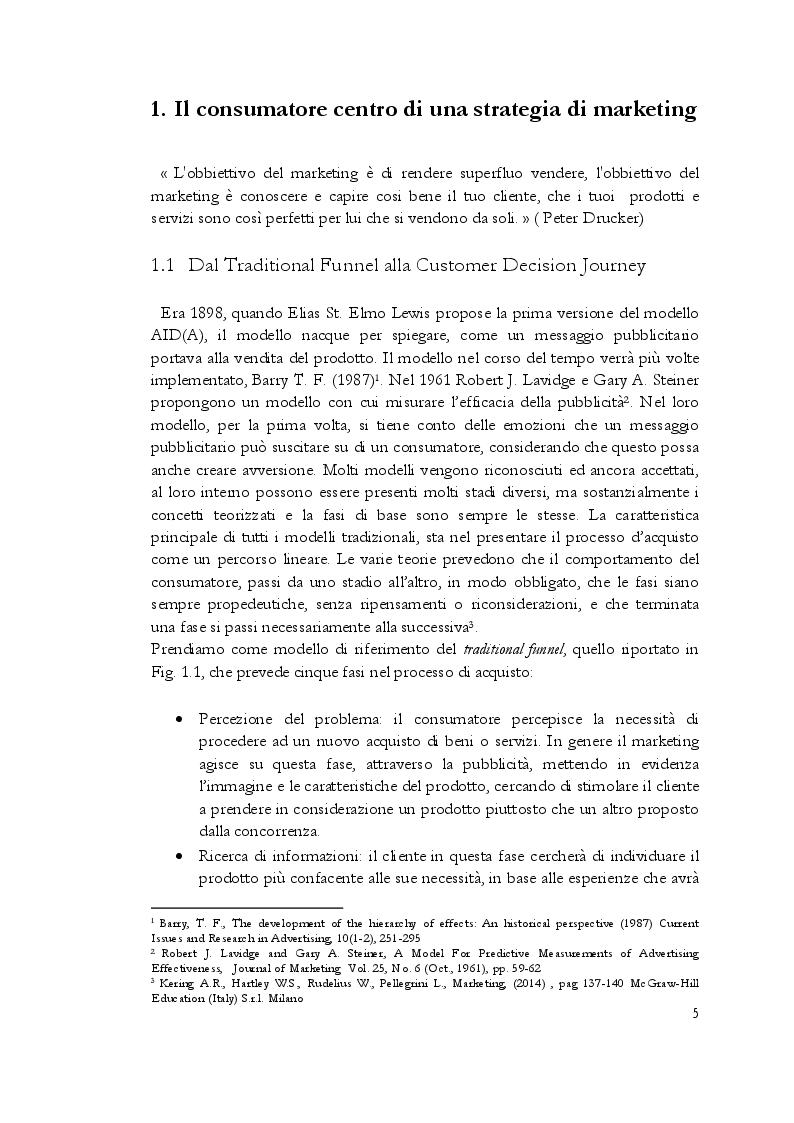 Anteprima della tesi: Estetica professionale. Adottare una strategia omnicanale, per differenziare l'offerta e creare valore aggiunto, Pagina 6