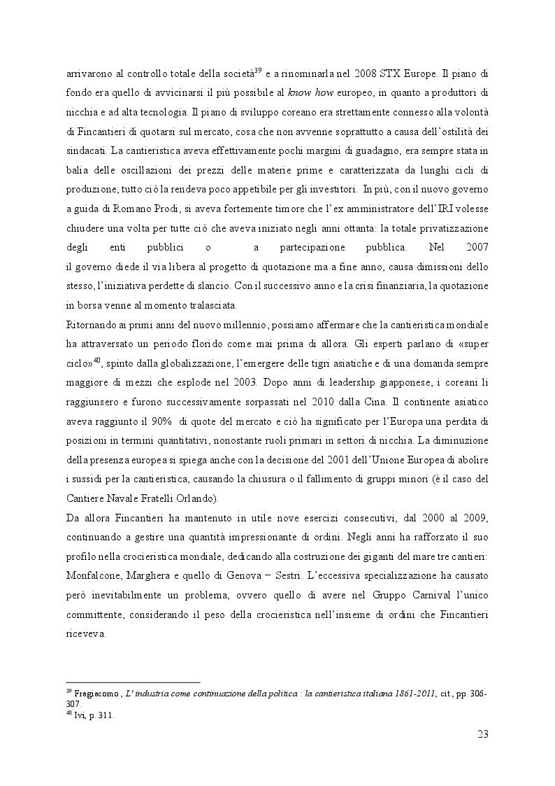 Anteprima della tesi: Fincantieri, dalla fine dell'IRI al successo internazionale, Pagina 3