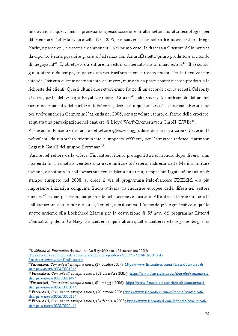 Anteprima della tesi: Fincantieri, dalla fine dell'IRI al successo internazionale, Pagina 4