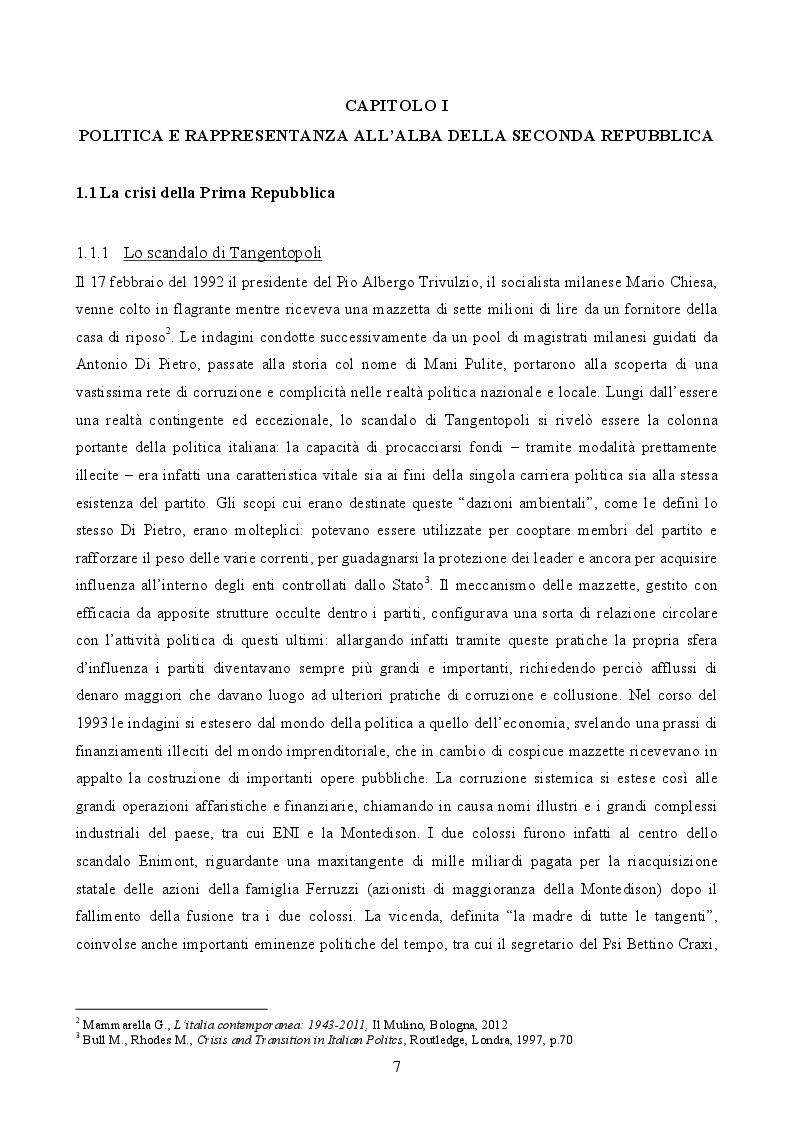 Anteprima della tesi: Il governo di Lamberto Dini (1995-1996). L'anello tecnico tra le due repubbliche, Pagina 4