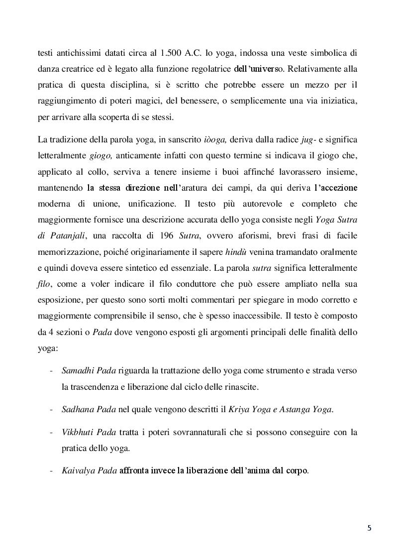 Anteprima della tesi: Lo yoga: uno strumento pedagogico di alfabetizzazione emotiva per lo sviluppo empatico e sociale del bambino, Pagina 3