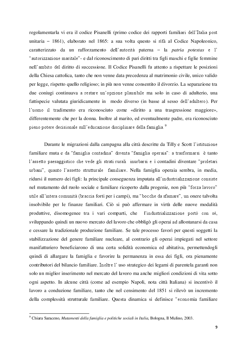 """Anteprima della tesi: Lo sfacelo dell'istituzione familiare ne """"Gli indifferenti"""" di Alberto Moravia, Pagina 6"""