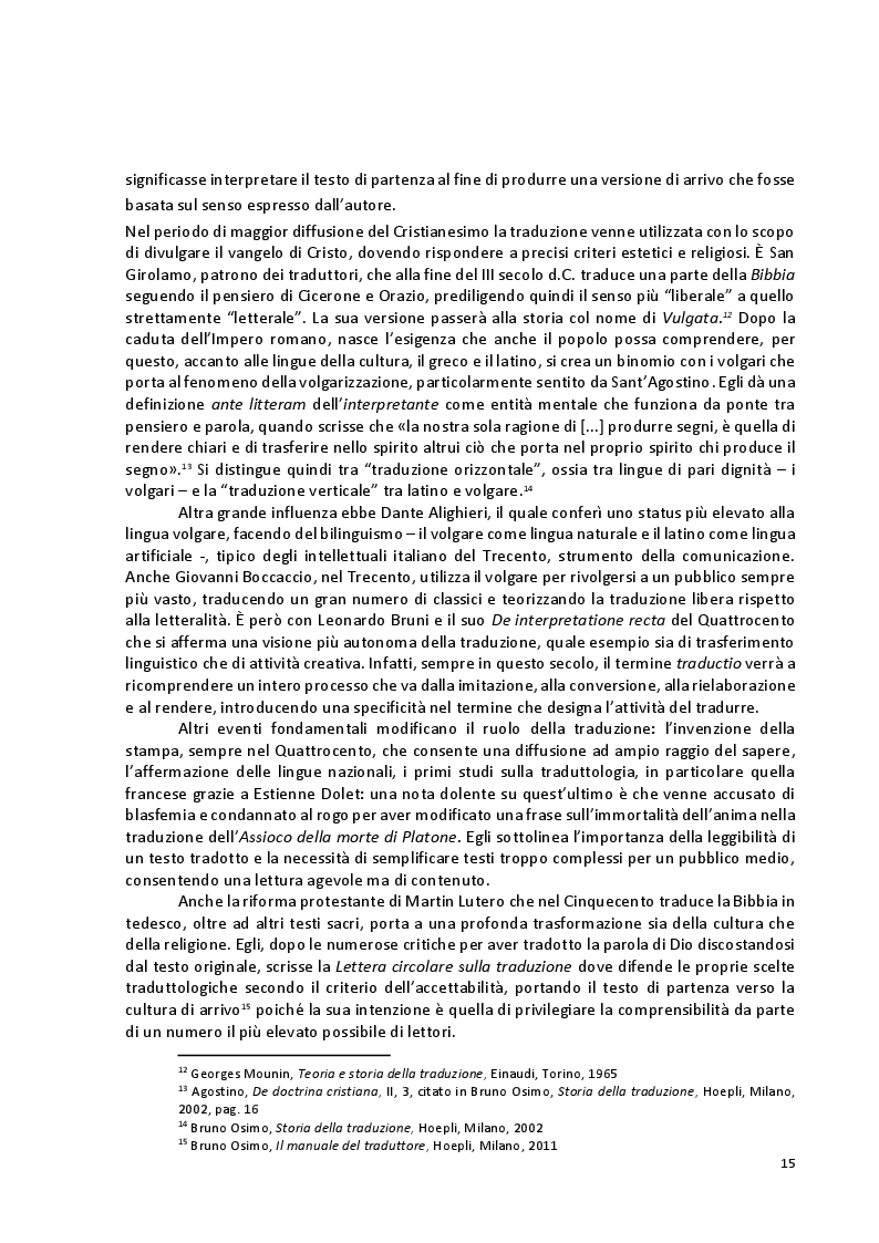 Estratto dalla tesi: Viaggio attraverso la traduzione e sottotitolazione di quattro cortometraggi tra inglese, spagnolo e italiano