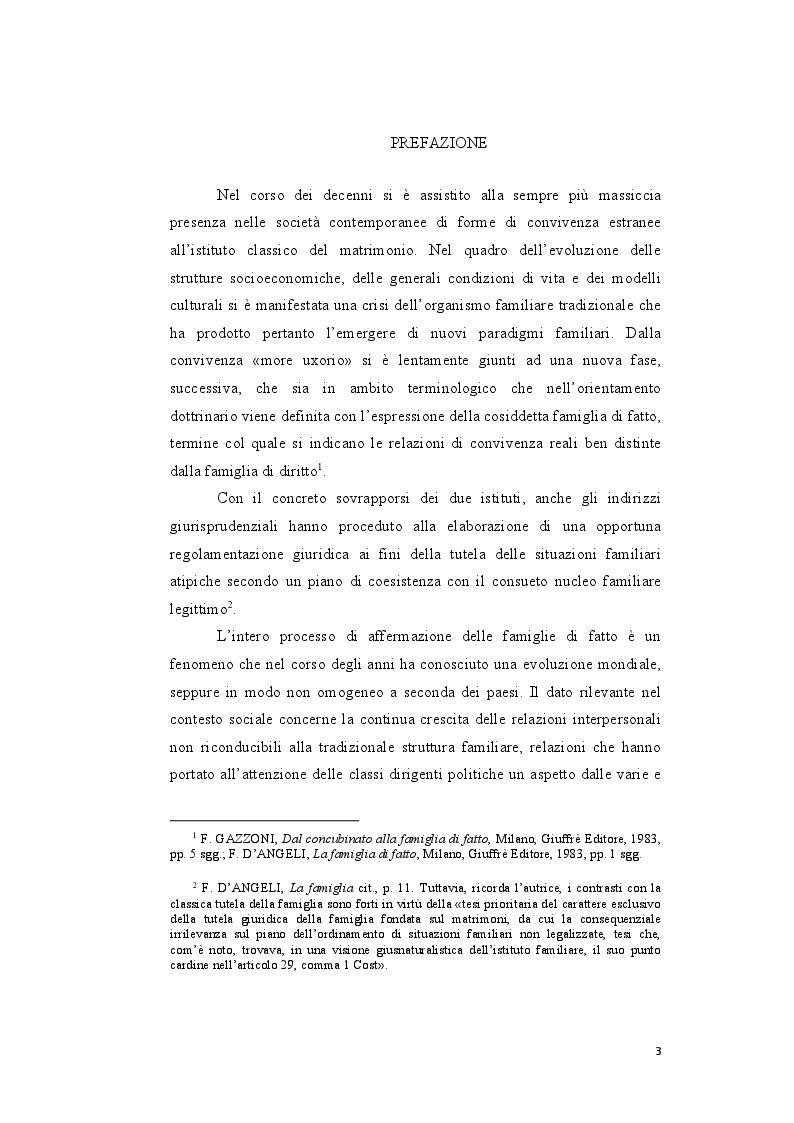Anteprima della tesi: Genesi e sviluppo del riconoscimento giuridico delle unioni civili nei paesi dell'Unione Europea, Pagina 2