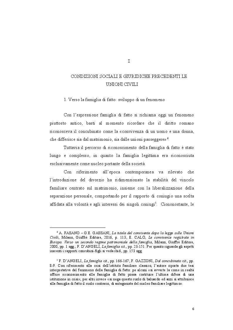 Anteprima della tesi: Genesi e sviluppo del riconoscimento giuridico delle unioni civili nei paesi dell'Unione Europea, Pagina 5