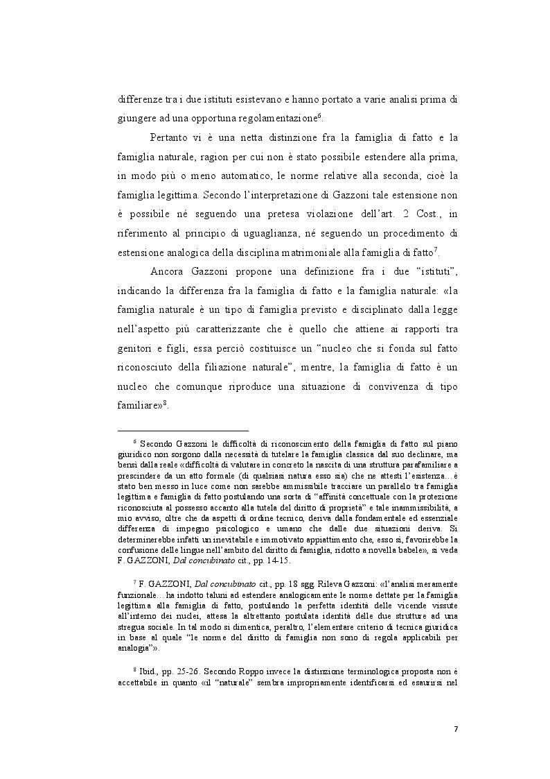 Anteprima della tesi: Genesi e sviluppo del riconoscimento giuridico delle unioni civili nei paesi dell'Unione Europea, Pagina 6