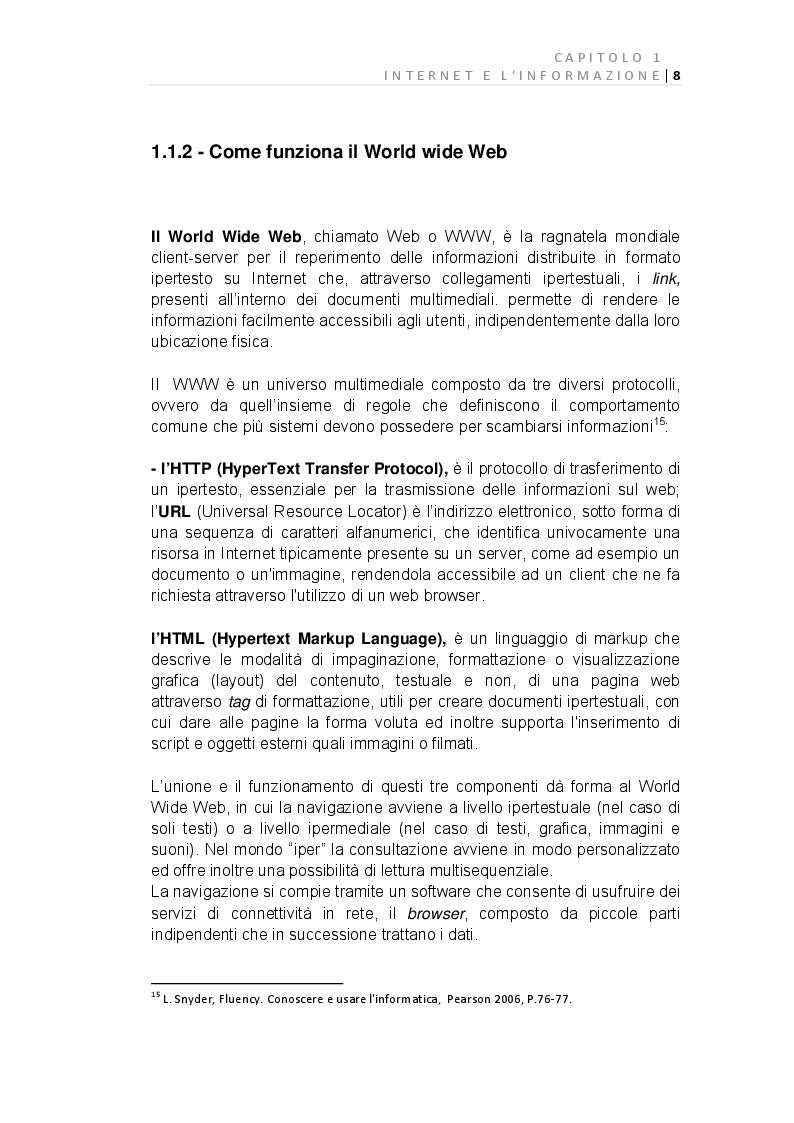 Anteprima della tesi: E-Journalism: Evoluzione di una professione tra Gutenberg e Twitter, Pagina 2