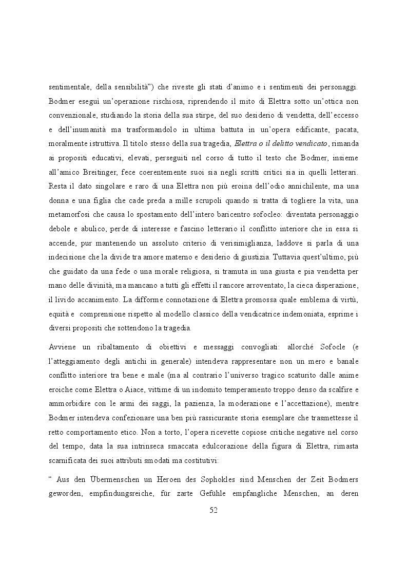 Anteprima della tesi: Elettra nell'Idomeneo Re di Creta di Mozart: riprese classiche dal teatro sofocleo, Pagina 10
