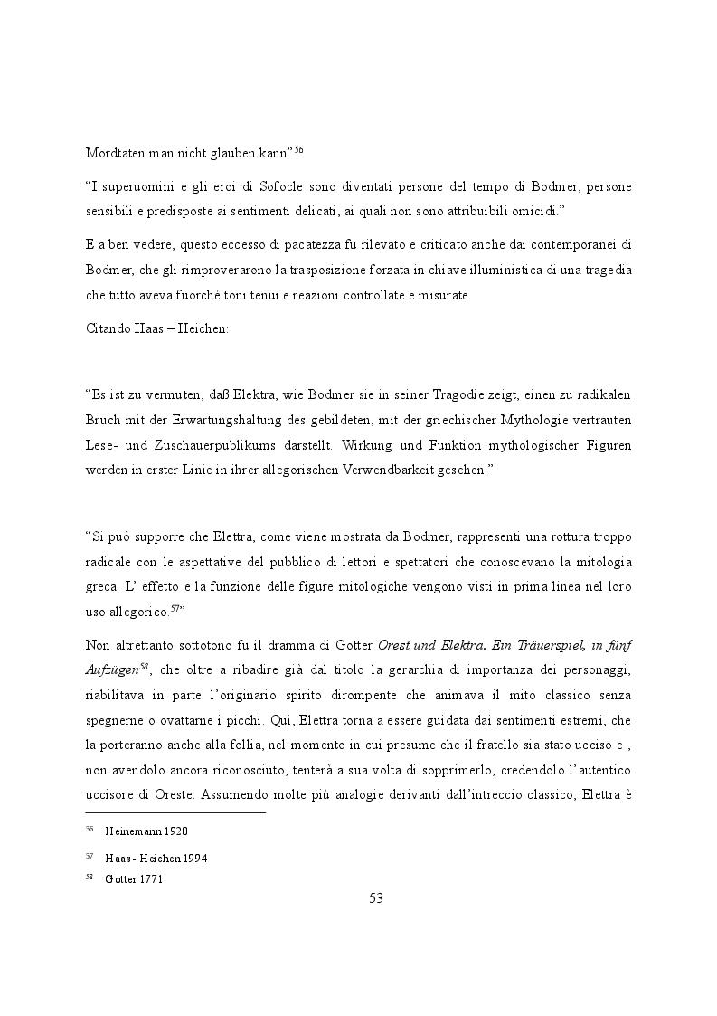 Anteprima della tesi: Elettra nell'Idomeneo Re di Creta di Mozart: riprese classiche dal teatro sofocleo, Pagina 11