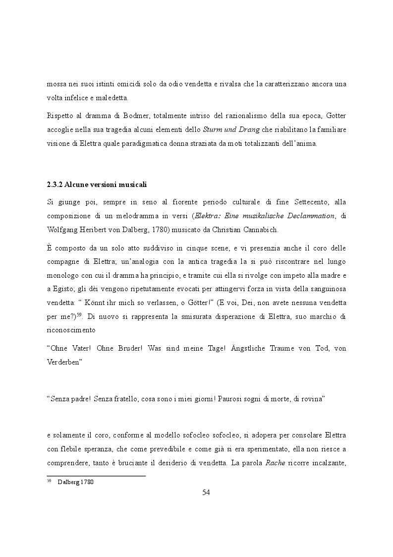 Anteprima della tesi: Elettra nell'Idomeneo Re di Creta di Mozart: riprese classiche dal teatro sofocleo, Pagina 12