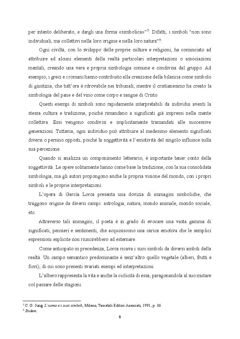 Estratto dalla tesi: Simbologia del colore bianco nell'opera di Federico García Lorca