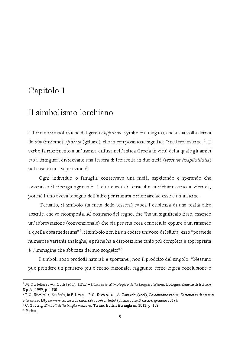 Anteprima della tesi: Simbologia del colore bianco nell'opera di Federico García Lorca, Pagina 2