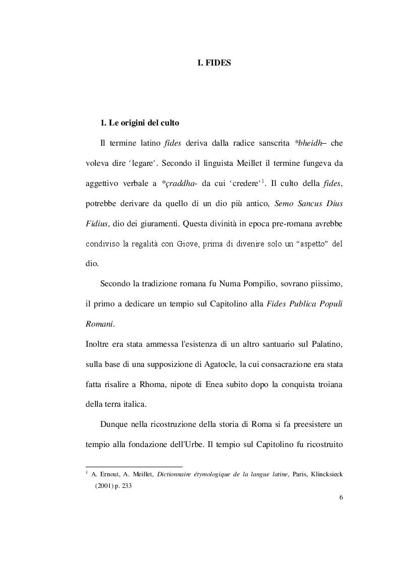 Anteprima della tesi: Dissimulare etiam sperasti, perfide (Verg. Aen, IV 305) Fides e perfidia nella poesia latina, Pagina 2