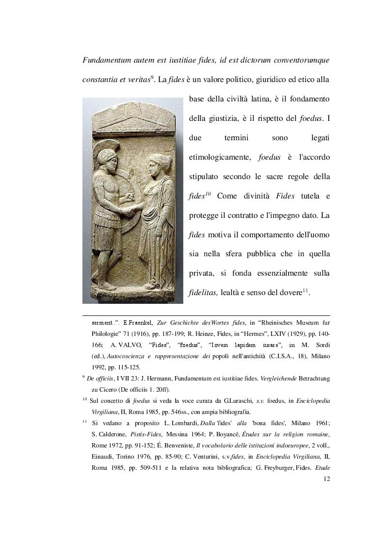 Anteprima della tesi: Dissimulare etiam sperasti, perfide (Verg. Aen, IV 305) Fides e perfidia nella poesia latina, Pagina 8