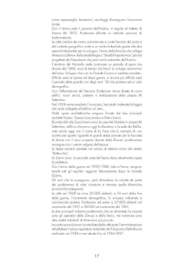 Anteprima della tesi: Pordenone: Recupero urbano degli ex bagni di Pordenone, Pagina 3