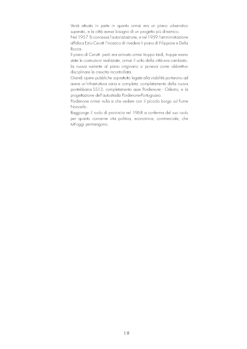 Anteprima della tesi: Pordenone: Recupero urbano degli ex bagni di Pordenone, Pagina 4