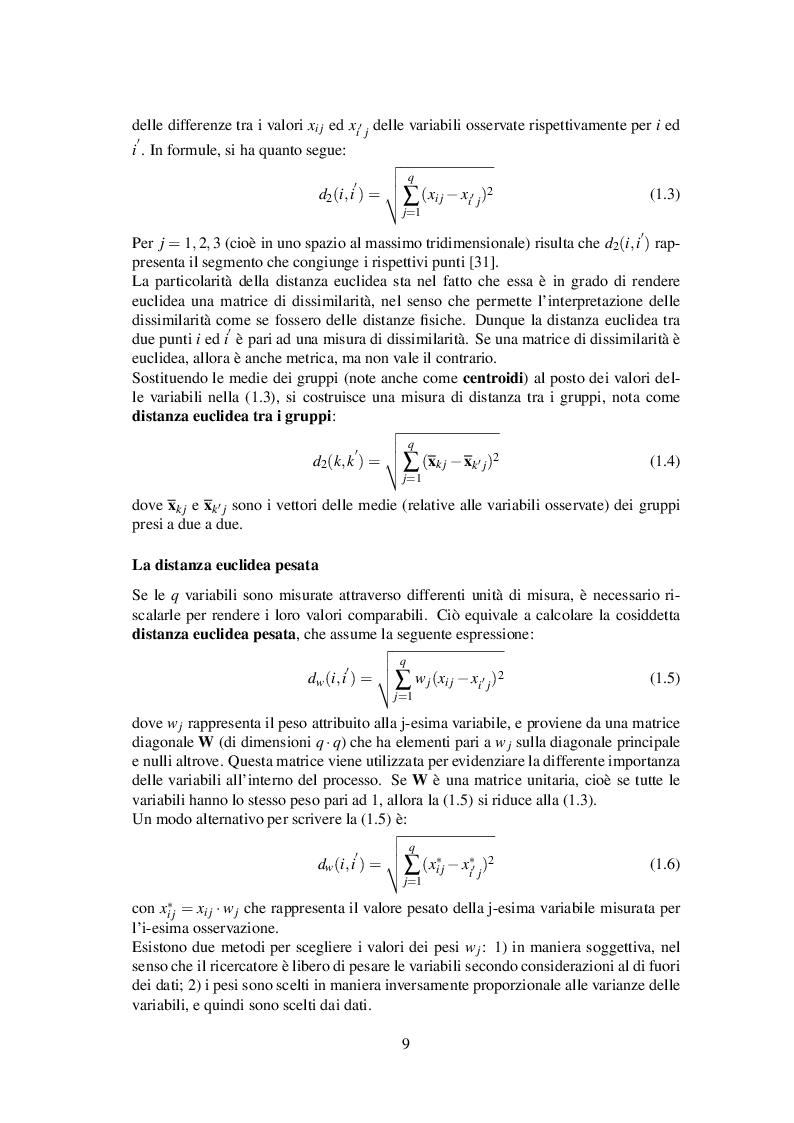 Anteprima della tesi: Classificazione automatica per dati ad alta dimensionalità: un approccio fuzzy per dati categorici, Pagina 10
