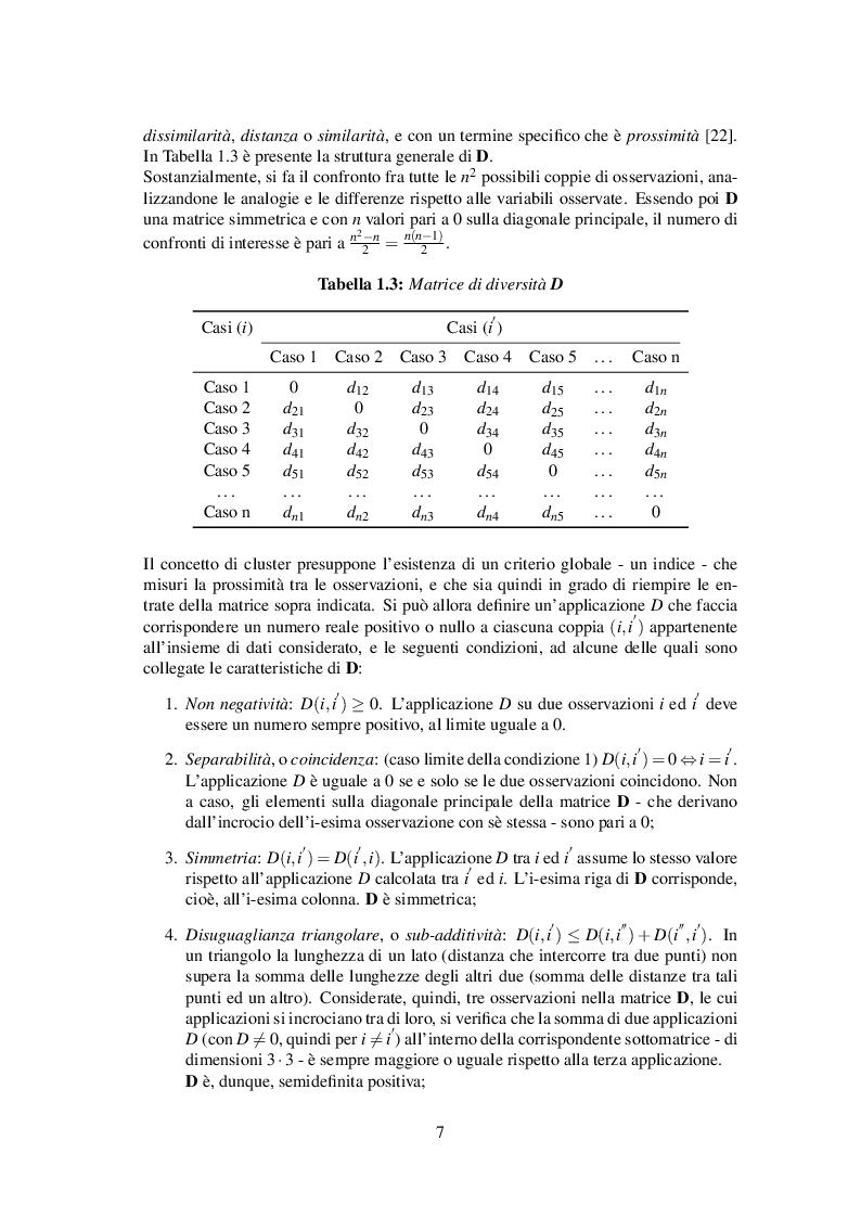 Anteprima della tesi: Classificazione automatica per dati ad alta dimensionalità: un approccio fuzzy per dati categorici, Pagina 8
