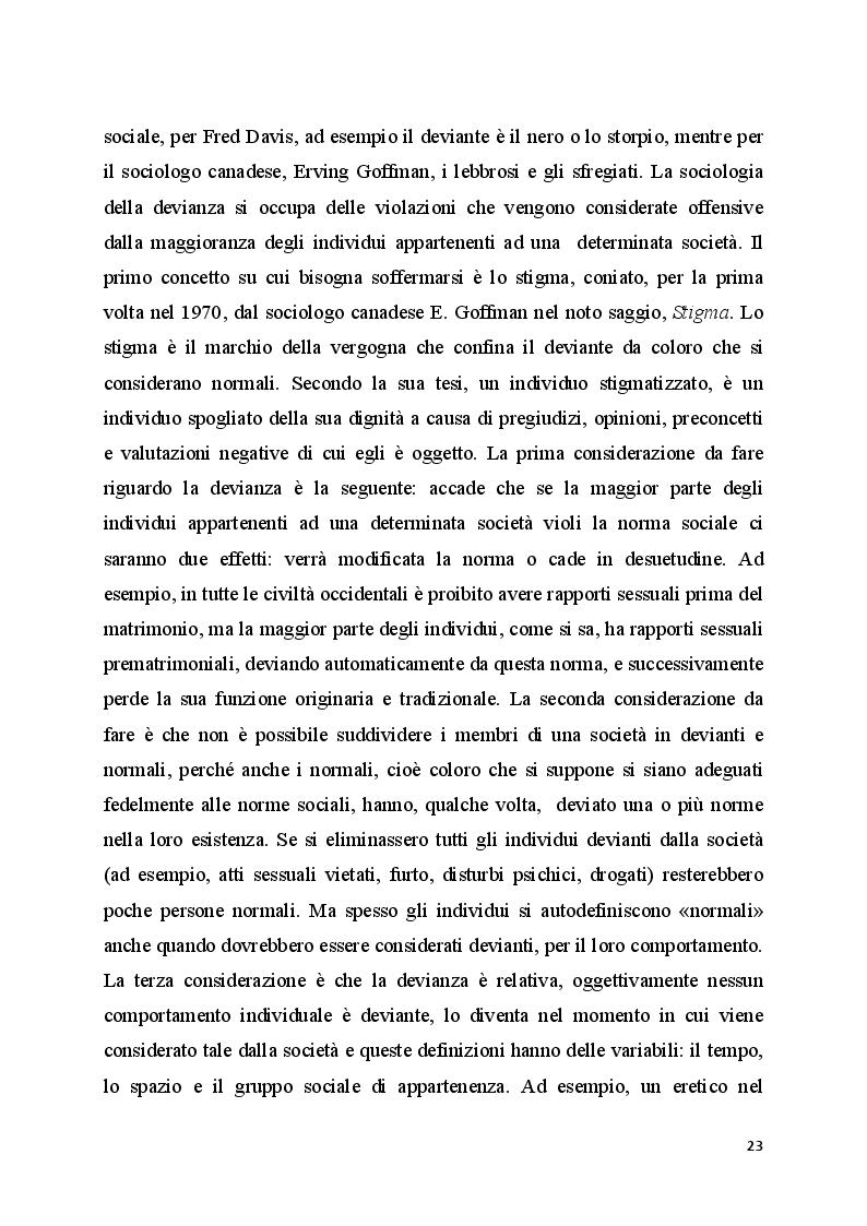 Anteprima della tesi: Il bullismo omofobico: maschilismo e devianza, Pagina 11