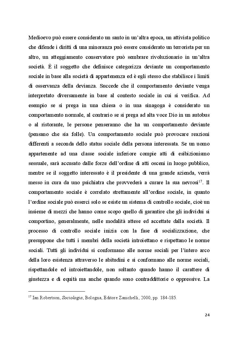 Anteprima della tesi: Il bullismo omofobico: maschilismo e devianza, Pagina 12