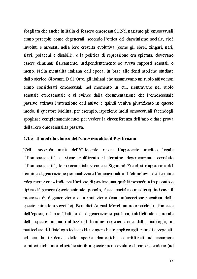 Anteprima della tesi: Il bullismo omofobico: maschilismo e devianza, Pagina 4