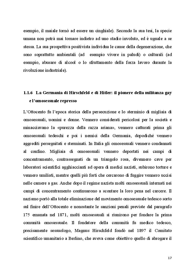 Anteprima della tesi: Il bullismo omofobico: maschilismo e devianza, Pagina 5
