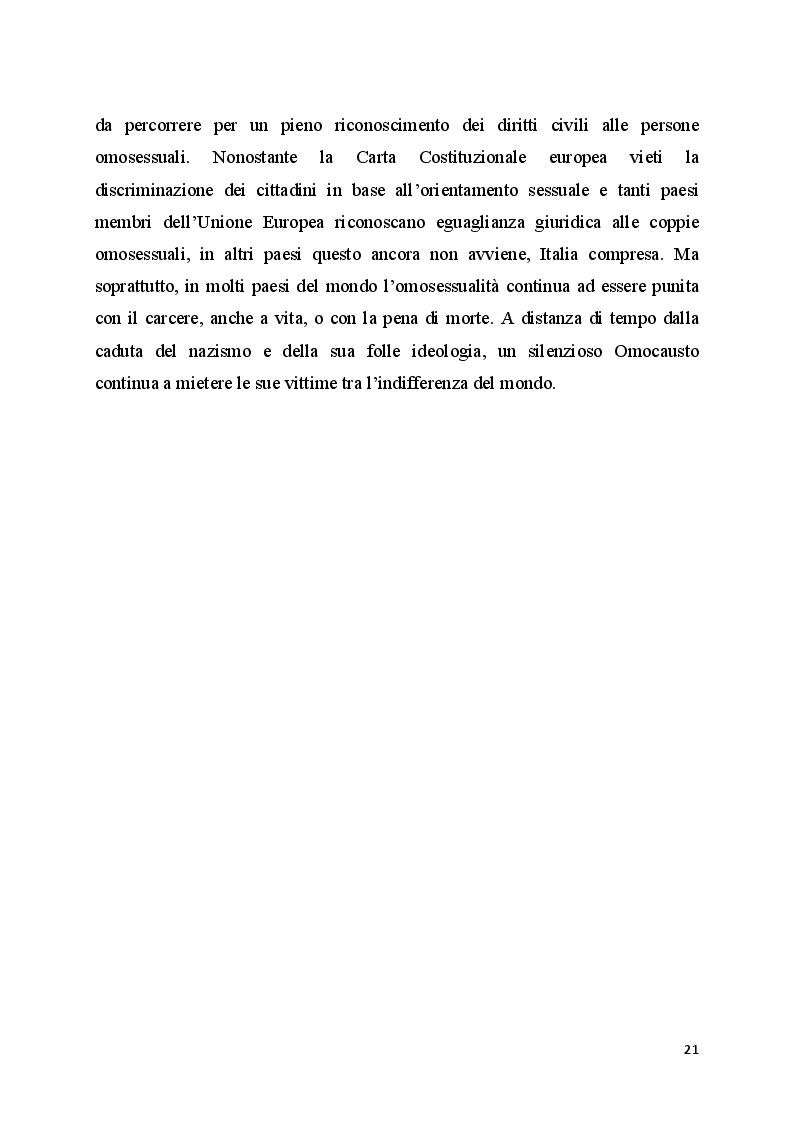 Anteprima della tesi: Il bullismo omofobico: maschilismo e devianza, Pagina 9