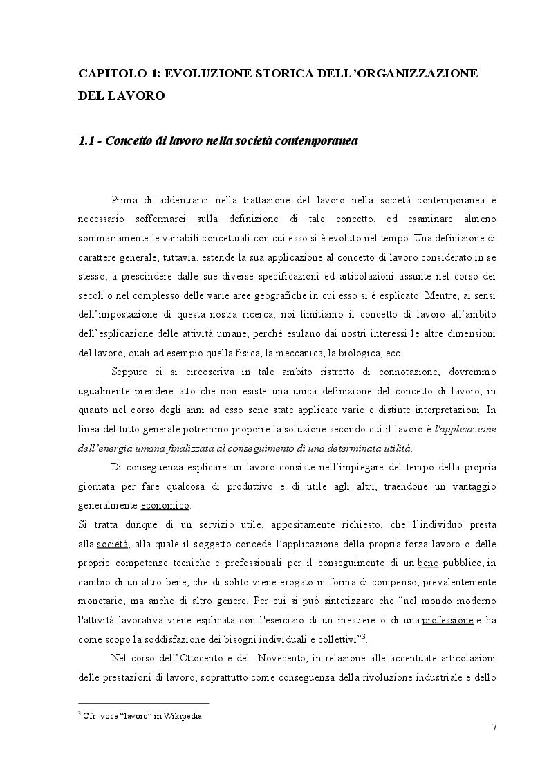 Anteprima della tesi: Benessere organizzativo e stress da lavoro correlato, Pagina 5