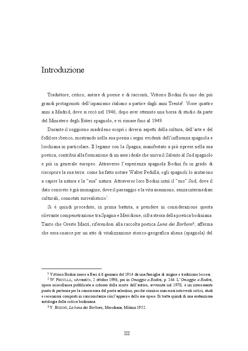 Anteprima della tesi: Vittorio Bodini e l'antologia dei ''Poeti surrealisti spagnoli'', Pagina 2