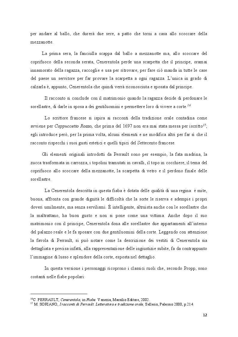 Estratto dalla tesi: Fiabe europee e fiabe russe a confronto
