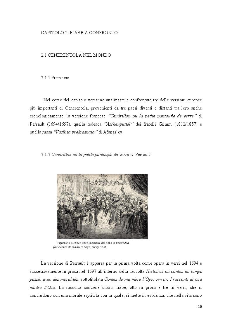 Anteprima della tesi: Fiabe europee e fiabe russe a confronto, Pagina 2