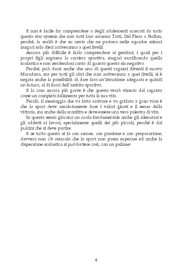 Anteprima della tesi: Dispersione scolastica e pedagogia dello sport: il progetto E.Sp.Air, Pagina 3