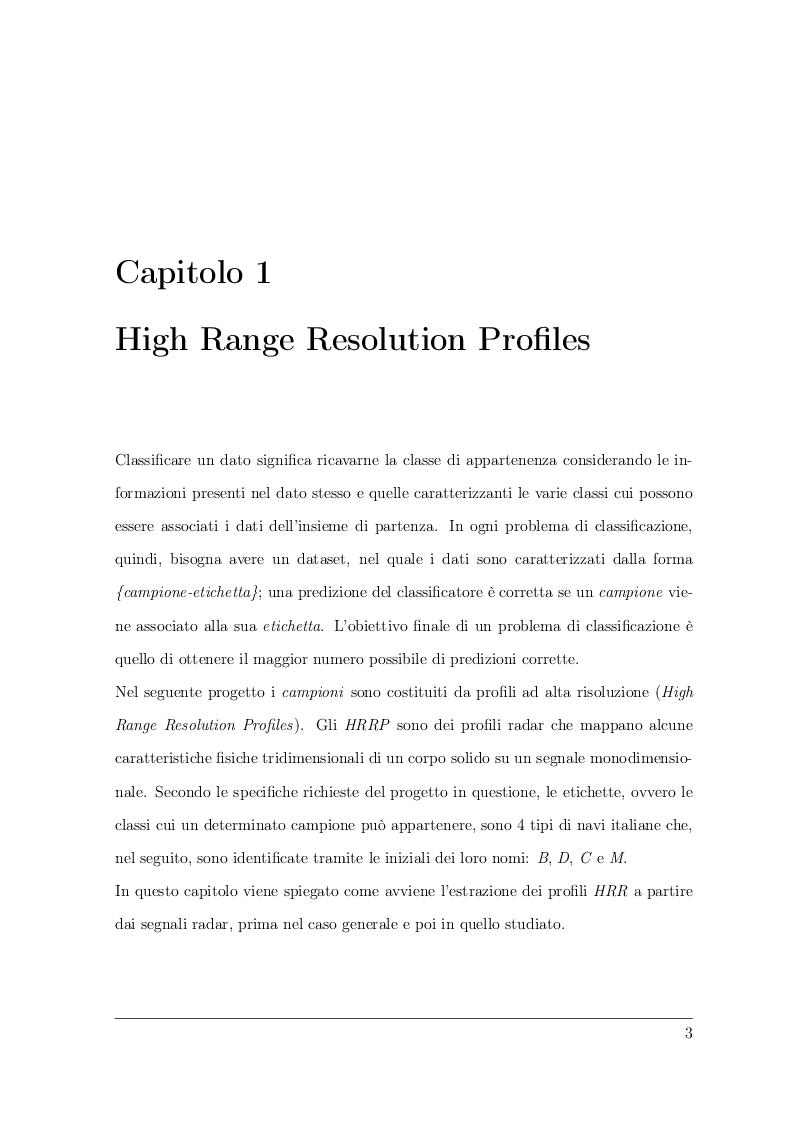 Anteprima della tesi: Classificazione di profili ad alta risoluzione tramite l'utilizzo di reti neurali convoluzionali, Pagina 2