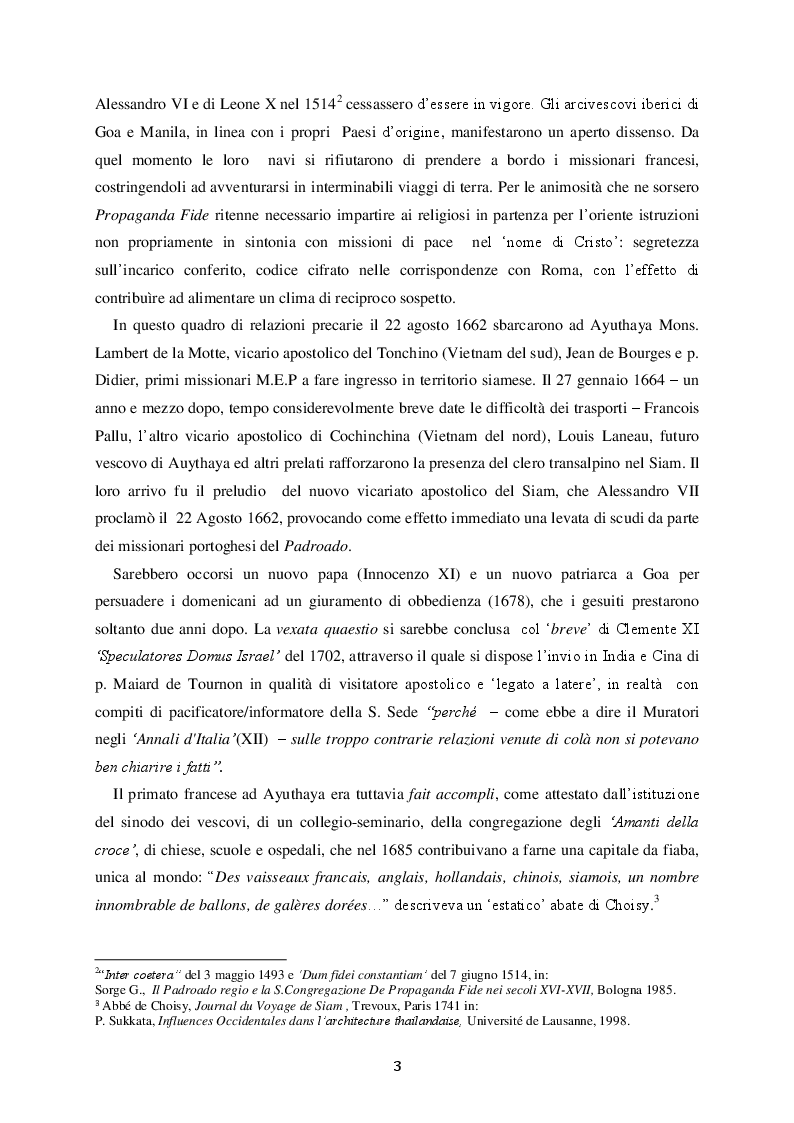 Anteprima della tesi: Le Relazioni Santa Sede/Thailandia dal secondo conflitto mondiale ad oggi, Pagina 6