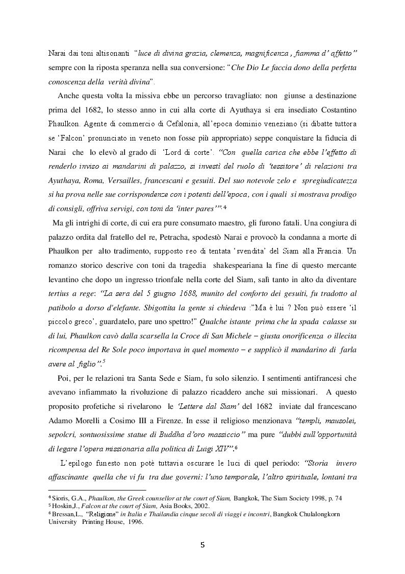 Anteprima della tesi: Le Relazioni Santa Sede/Thailandia dal secondo conflitto mondiale ad oggi, Pagina 8
