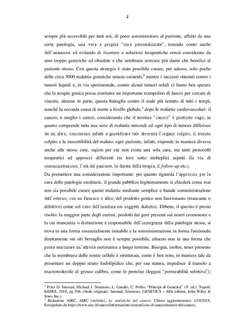 Anteprima della tesi: Immunoterapia oncologica mediante cellule CAR-T, Pagina 3
