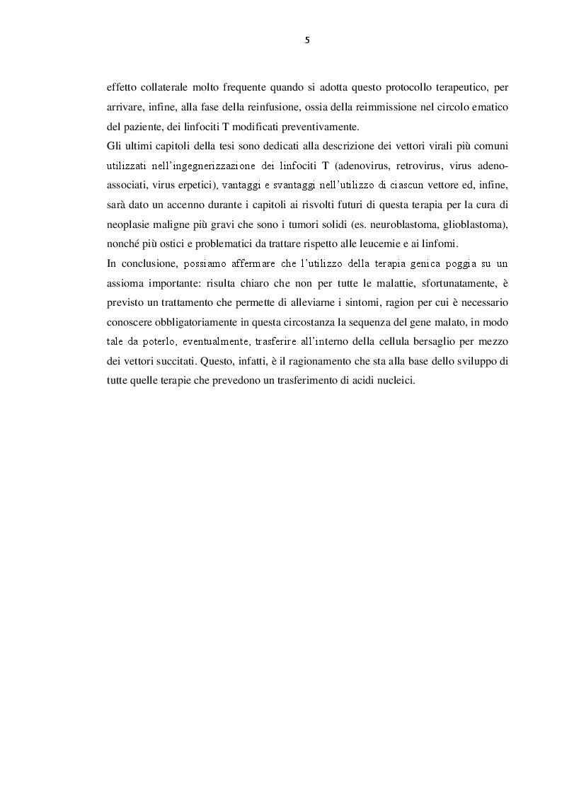 Anteprima della tesi: Immunoterapia oncologica mediante cellule CAR-T, Pagina 6
