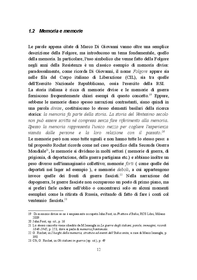 Estratto dalla tesi: La Campagna d'Africa Settentrionale (1940-1943): memorialisti italiani a confronto