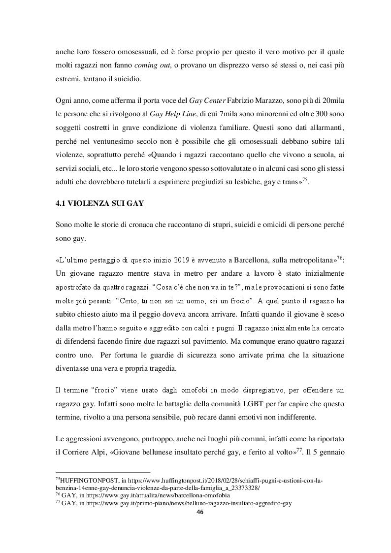 Anteprima della tesi: Come si diventa violenti e verso chi, Pagina 5