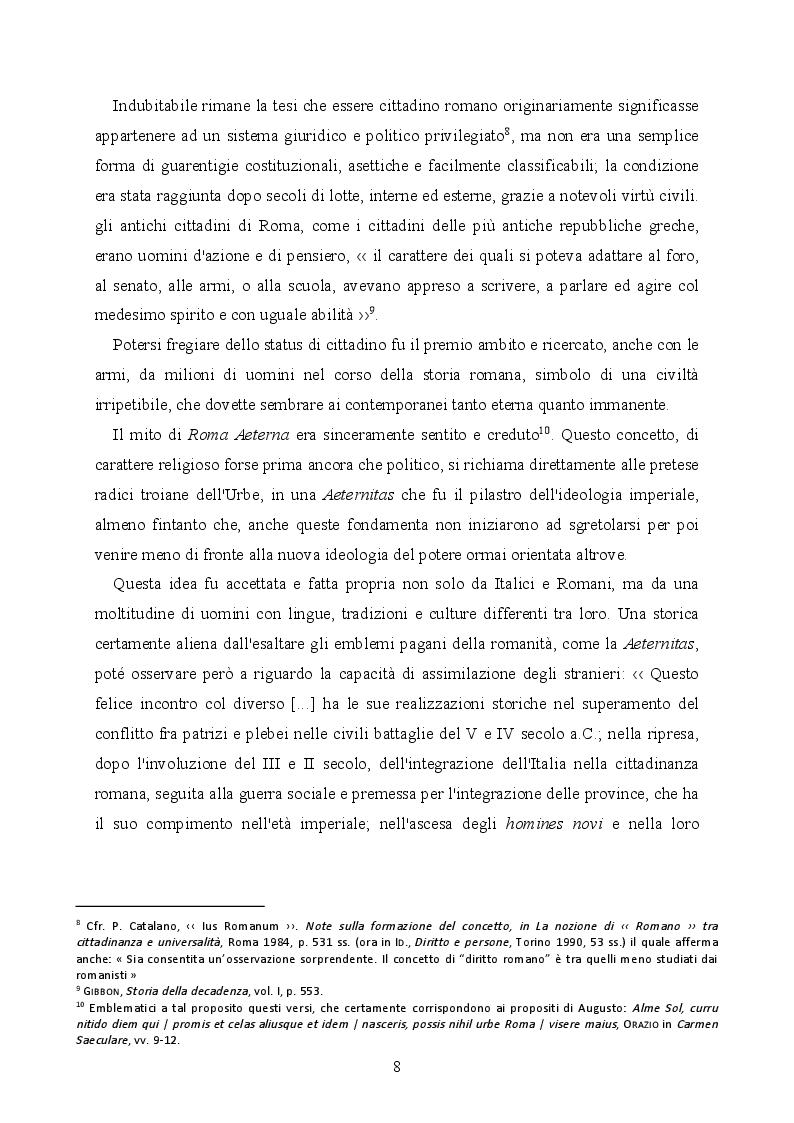 Anteprima della tesi: La provincializzazione dell'Italia romana. Persistenze e cesure dal Principato al Basso Impero, Pagina 5
