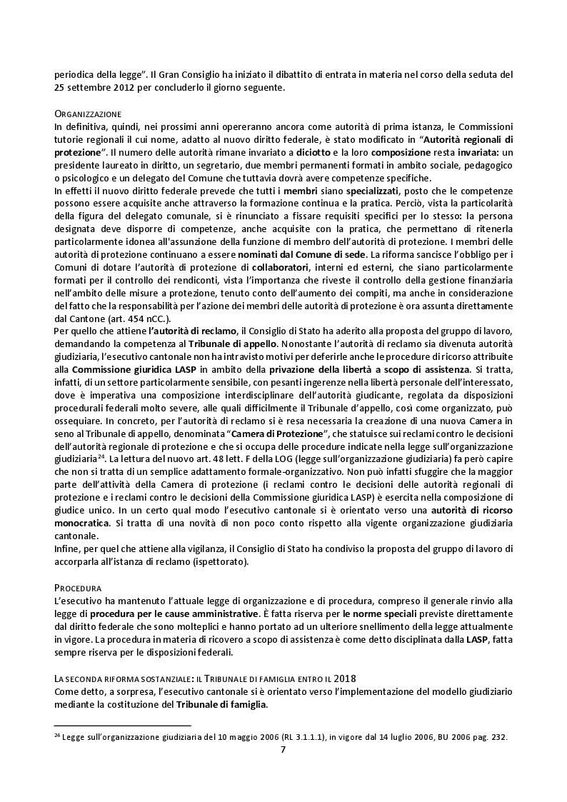 Anteprima della tesi: Il mandato precauzionale e le direttive anticipate nel nuovo diritto svizzero di protezione dell'adulto, Pagina 10