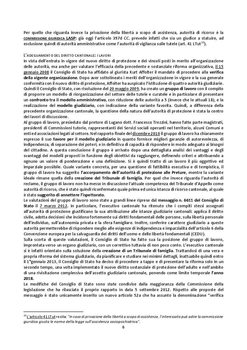 Anteprima della tesi: Il mandato precauzionale e le direttive anticipate nel nuovo diritto svizzero di protezione dell'adulto, Pagina 9