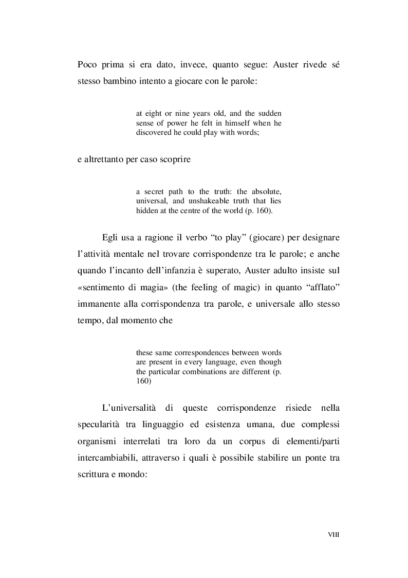 Anteprima della tesi: Paul Auster e Italo Calvino: tra Metafisica e Memoria, Pagina 6