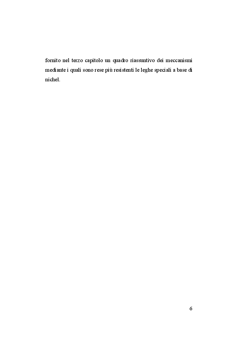 Anteprima della tesi: Deformazione di particelle microscopiche. Effetti della dimensione e dei trattamenti termici per superleghe di nickel, Pagina 5