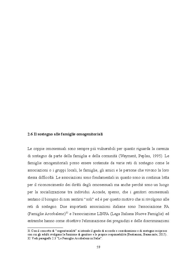Anteprima della tesi: Omogenitorialità: ricerca VS pregiudizi, Pagina 2