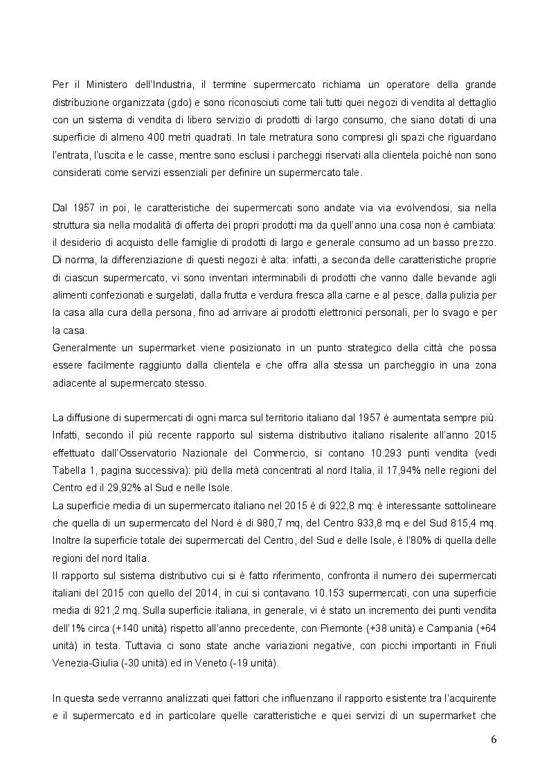 Anteprima della tesi: Il Processo di Fidelizzazione degli Acquirenti nella Grande Distribuzione Organizzata, Pagina 4