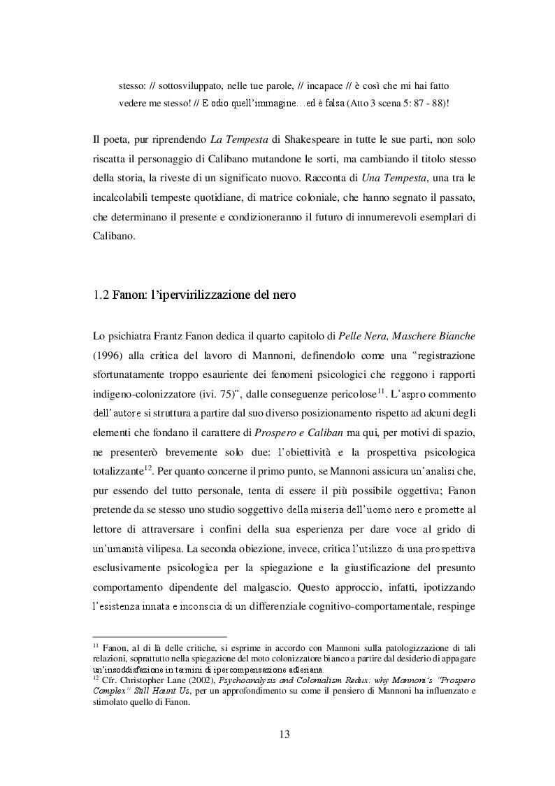 Anteprima della tesi: Bordelli di Sabbia. Razzismo e Prostituzione dalla Colonia al Turismo Sessuale: il Caso di Cuba, Pagina 9
