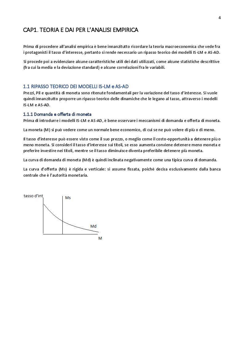 Anteprima della tesi: Analisi sui tassi d'interesse dei bond governativi, Pagina 2